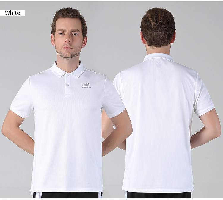 Online Order Wholesale Polo Shirts Latest Design In Stock Blue Men's Polo Sport T Shirt