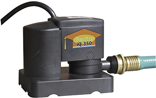 Pumps Away Genius Automatic 350 GPH Submersible Swimming Pool Winter Cover Pump Auto On/off