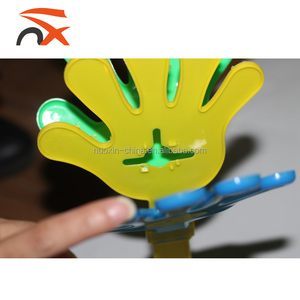 Promotion Customized Print Hand Clap Toy With Noise Maker Sport Clapper