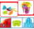 Kids summer outdoor play 8 in 1 plastic beach bucket set sand play toy with cover