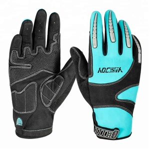 Popular Windproof and Waterproof Push Bike Cycling Gloves Best MTB BMX Motocross Gloves For Hand Numbness