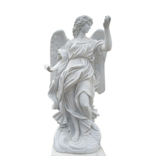 Witte steen angels <span class=keywords><strong>standbeeld</strong></span> <span class=keywords><strong>beton</strong></span> angel standbeelden