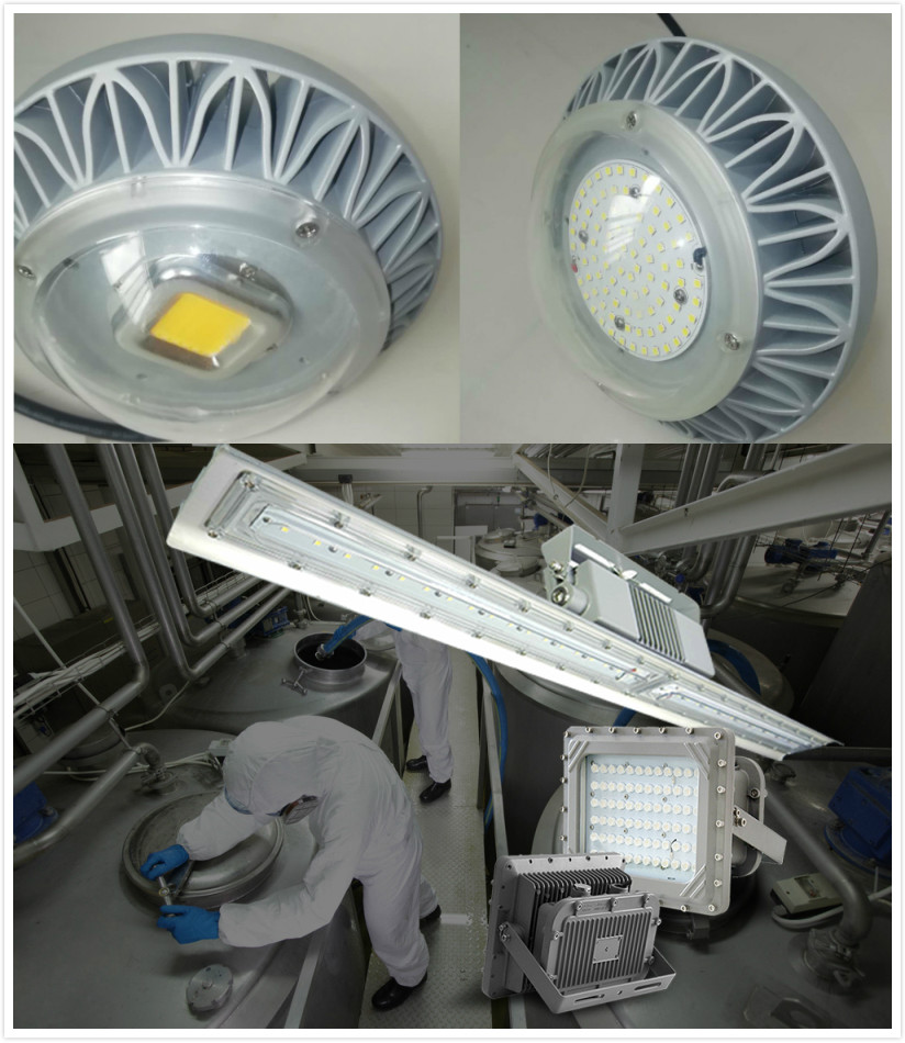 LED Explosion -Proof Platform Light Waterproof corrosion resistance lamp Explosion protection tunnel led