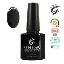 Free Sample Fast Dry Long Lasting Time Good Color Effect One Step UV 3 in 1 Nail Gel Polish No Base No Top