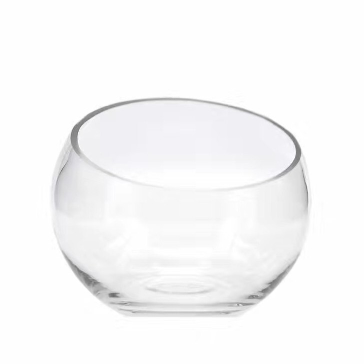 giant round glass vase wholesale clear fish bowl vases