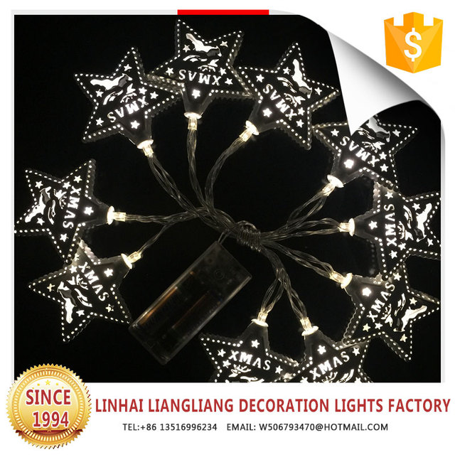 new design christmas metal hollow stars battery string lights  sc 1 st  Alibaba & China New Star Lighting Co Ltd Wholesale ?? - Alibaba