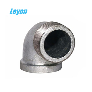 male/female threaded reducing elbow formula elbow pipe galvanized 90 degree street banded elbow