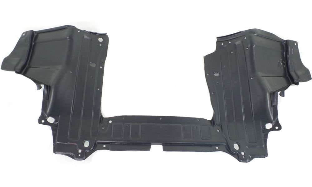 Evan-Fischer EVA201061715416 New Direct Fit Engine Splash Shield Plastic Engine Under Cover Front for Honda Fit