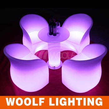 Led Light Up So Nice Coffee Shop Tables