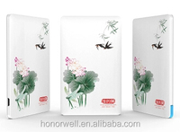 Super Slim Promotion With Beautiful Artwork printing Credit Card Portable Charge