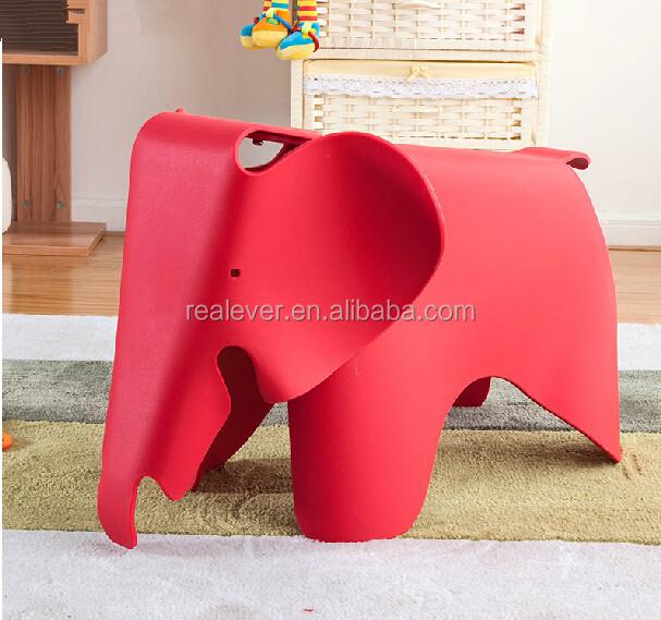 Plastic Kindergarten Chairs Kids Elephant Chair