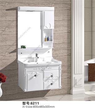 Single White Waterproof Bathroom Vanity Units