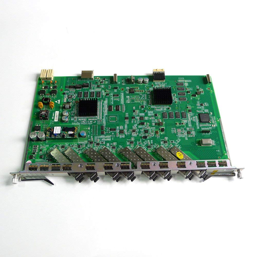 Generic 8 ports GPON board for C300 GPON OLT, GTGO board with 8 C+ modules