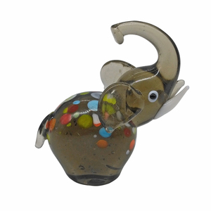 Free sample glass elephant figurines wholesale