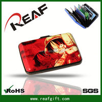 RFID aluminium wallet card holder as seen on TV a special place gifts