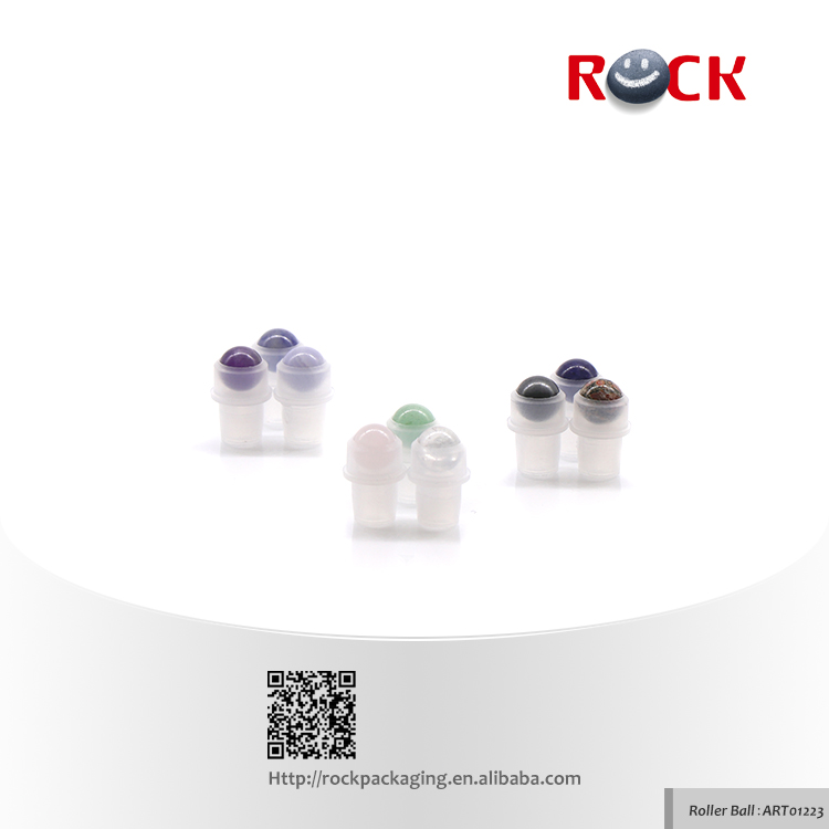 New Product gemstone massage roller ball
