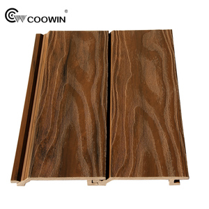 OEM Wood WPC Composite Exterior Wall Panel Boards Outdoor Cheap Wall Panel Tiles