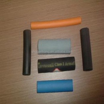 High density foam pipe insulation/heat insulation tube for air condition/open cell rubber foam tube for air condition