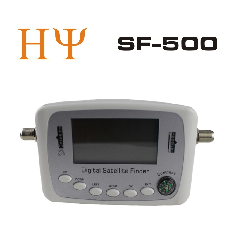Satlink sf-500 digitale del segnale satellitare finder metro sab parabolica finder con dvb-s dvb-s2