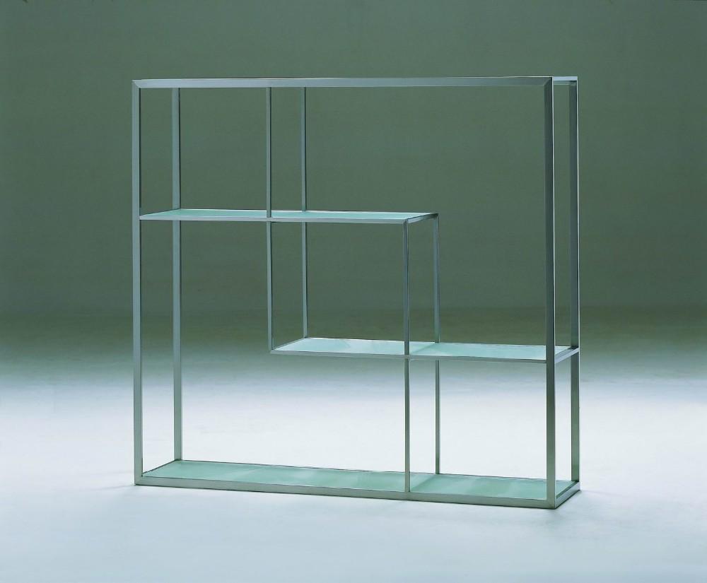 Moderne ontwerp metalen rvs boekenkast-andere metalen meubelen ...