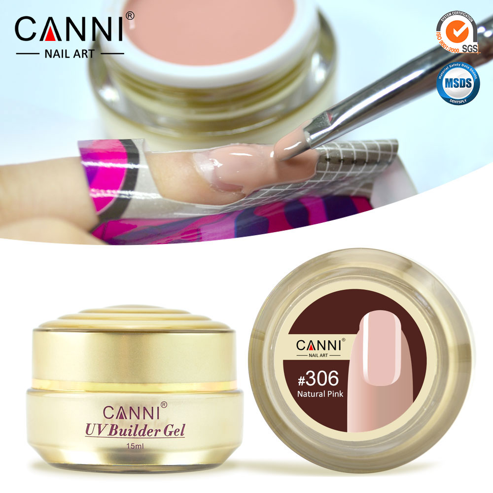 50951x Thick Camoufalge Builder Uv Gel Nails Nude Canni 15ml Finger ...