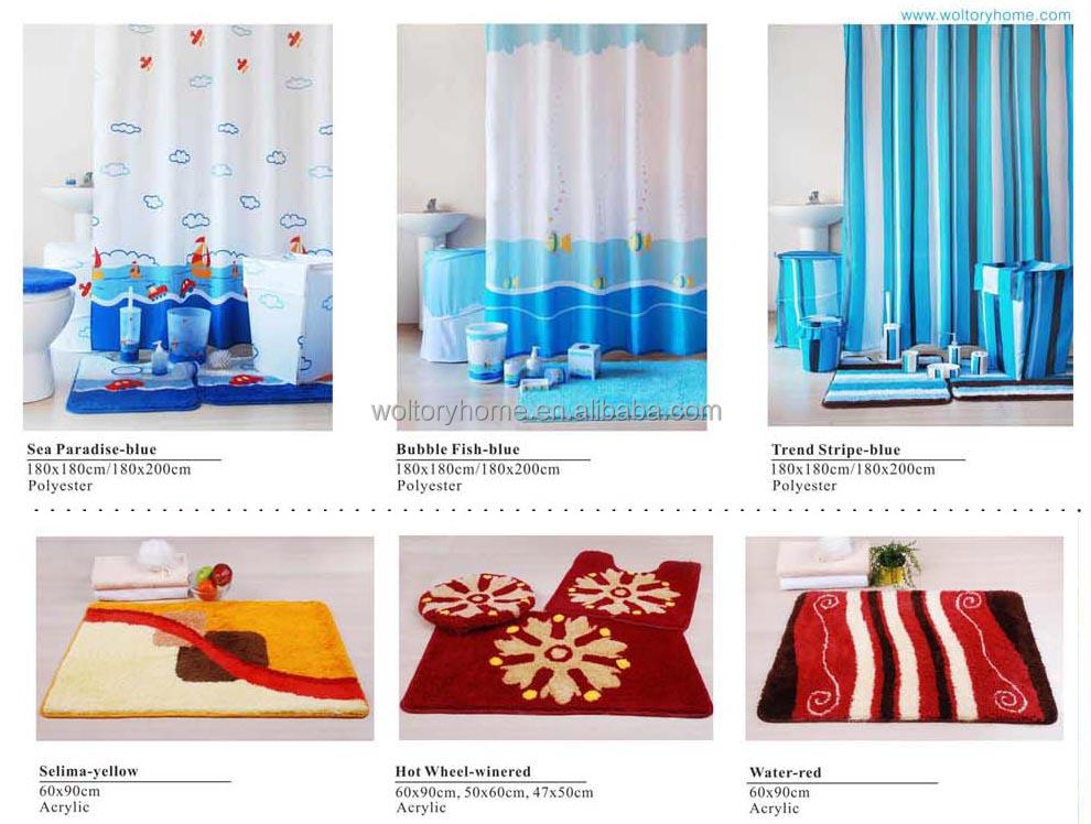 Romantic bathroom set in match design, Secret garden bath set for ...
