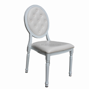 Hotel furniture restaurant round back dining chairs