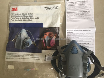 3M7502 Half face antigas mask 3M Silicone Gas Mask