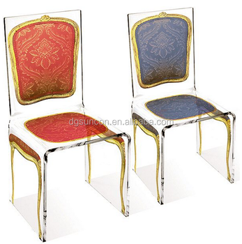 Feature Of Customized Simple Fashion Acrylic Wedding Chairs Acrylic