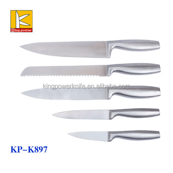 Best Selling Hollow Handle 420 Full Stainless Steel Kitchen Knife Set Buy Kitchen Knife Set Stainless Steel Kitchen Knife Set Hollow Handle
