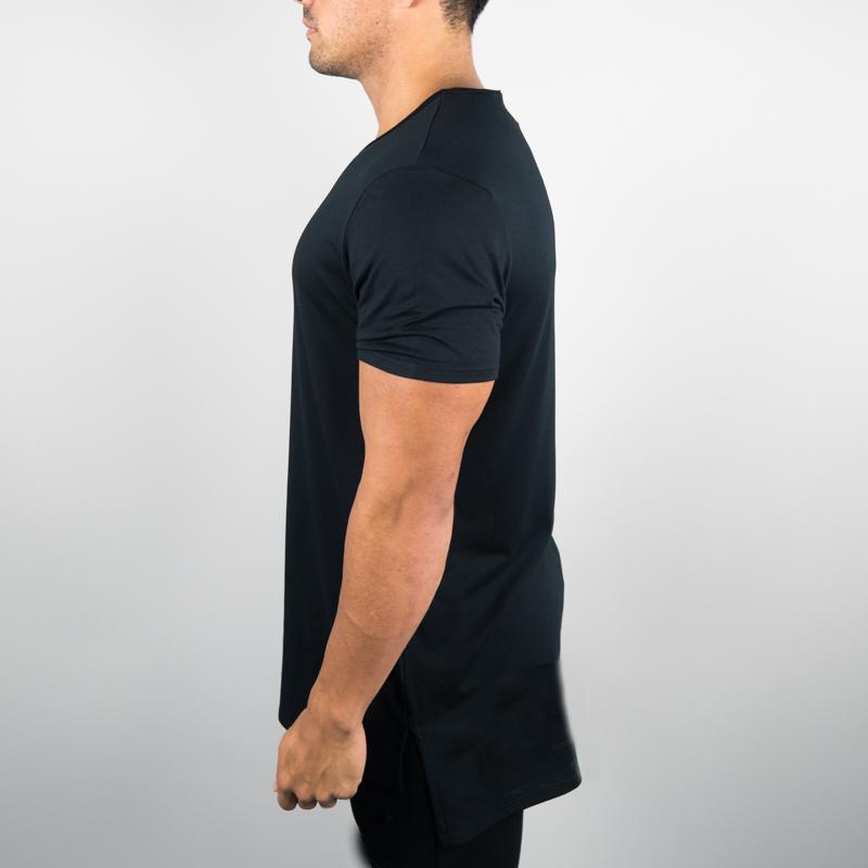 3bc94207 100% polyester wholesale blank t-shirts Custom high quality blank men plain  stretch print