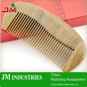 professional manufacture kinds of wooden hair comb beard comb lice comb