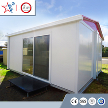 2017 new design modern folding prefab cabin kit/ foldable container house/fold up Australian granny flat