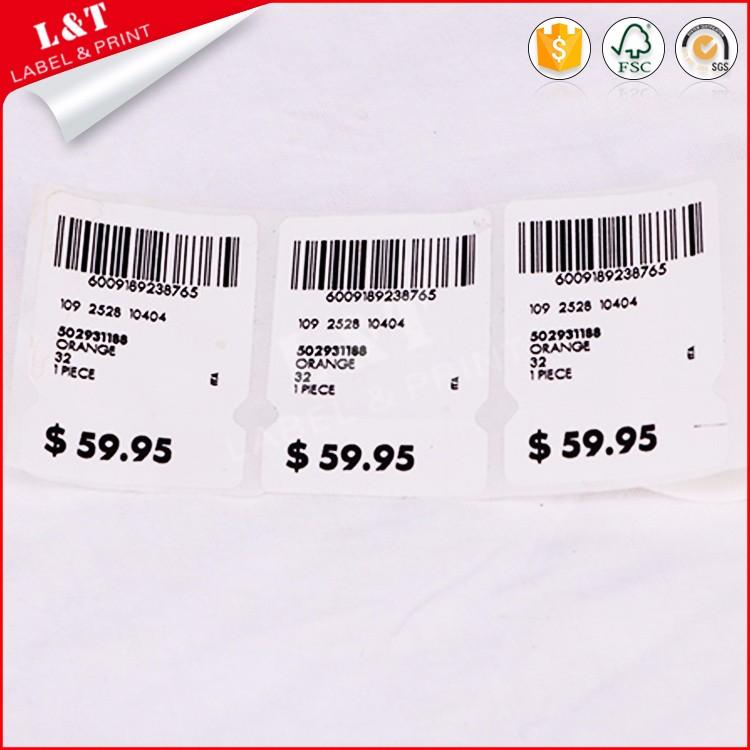 retail price tags