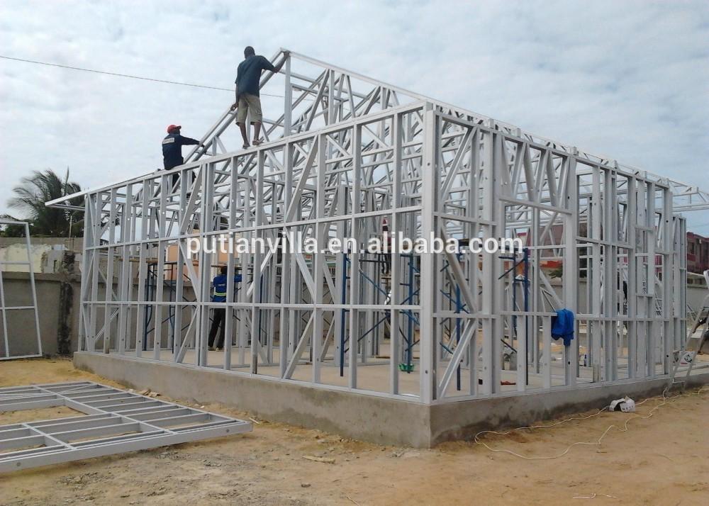 Casas de estructura de acero de medidor de luz para la vacación de ...