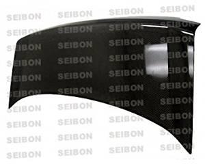 SEIBON OEM-style carbon fiber trunk lid > 2006-2007 Subaru Impreza/WRX