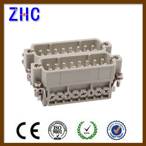 HA 3,4,10,16,32 pin male and female industrial electrical Heavy Duty connector