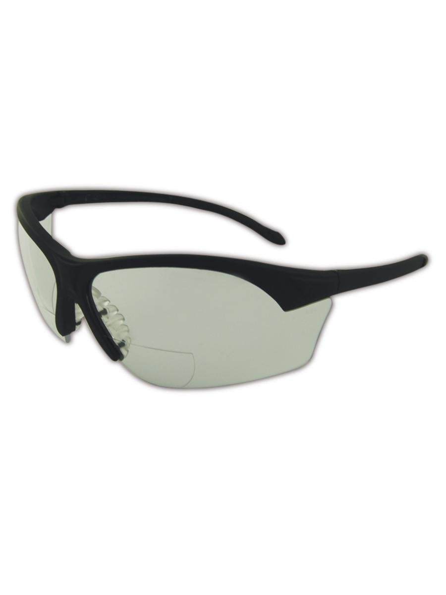 fc69597f017 Get Quotations · Magid YA7BKC Gemstone Specialty Protective Reader Glasses  with Black Frame and Clear Lens