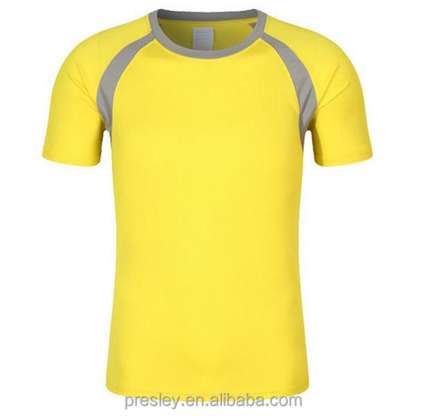 Good Quality Cheap Round Neck Dry Fit Sport T-shirt Wholesale For Advertising