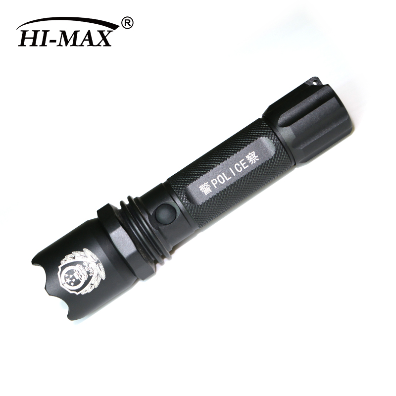Police mr light led torch 18650 li ion battery 12V led light The Public Security Department of police flashlight JTX-F110A