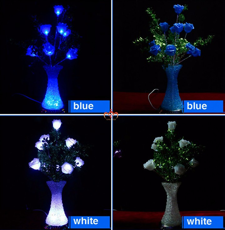 2016 50cm LED flower roses bouquet lights
