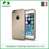 Wholesale phone cases TPU+PC 3 in 1 Armor case with kickstand cell phone back covers for Apple iPhone 6 / 6 plus