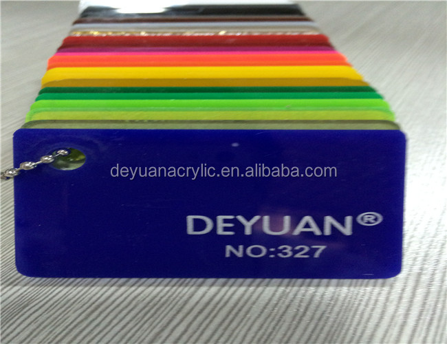 Colored Cast Acrylic Sheet In Stock / Good Quality 3mm Acrylic Sheet