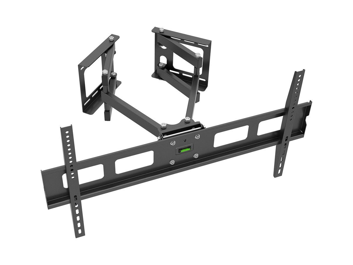 Monoprice Cornerstone Series Full-Motion Articulating TV Wall Mount Bracket - for TVs 37in to 63in Max Weight 132lbs VESA Patterns Up to 800x400