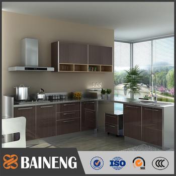China Kitchen Cabinet Aluminum Kitchen Cabinet Design L Shape View