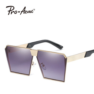 Pro Acme Vintage Big Frame Sunglasses Men Old School style UV400 Shade glasses PA2323