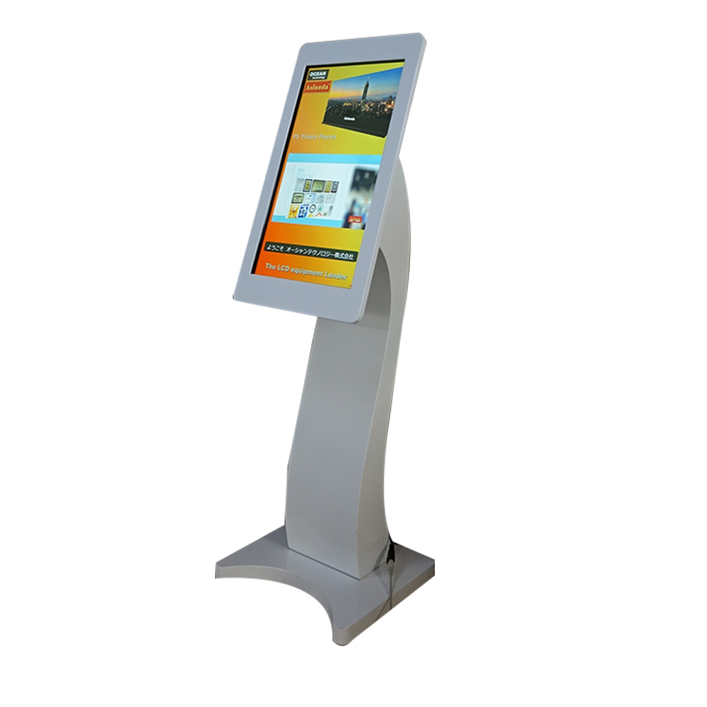 32inch internet advertising ipad design digital signage information touchscreen kiosk
