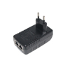 48V 0.5a 10/100Mbps Passive POE injector 30W power over ethernet for network