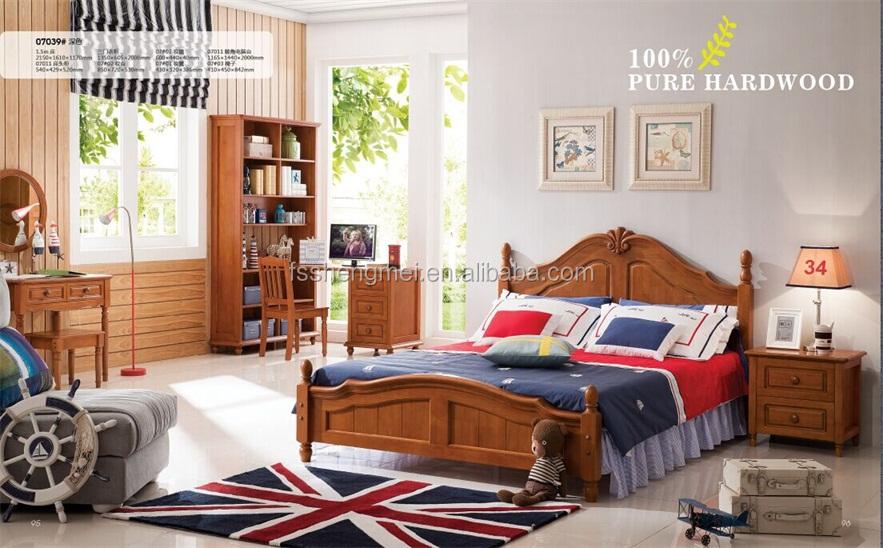 Camera Da Letto Legno Naturale : In legno naturale bambini camera da letto in legno set di colore