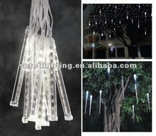 led rain tube light meteor / snowfall